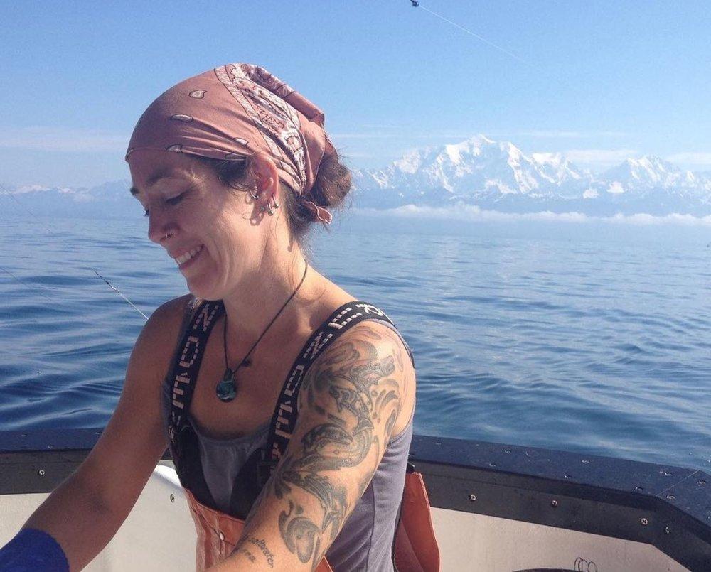 Friend of the project Tele runs Nerka Sea Frozen Salmon. photo: Instagram
