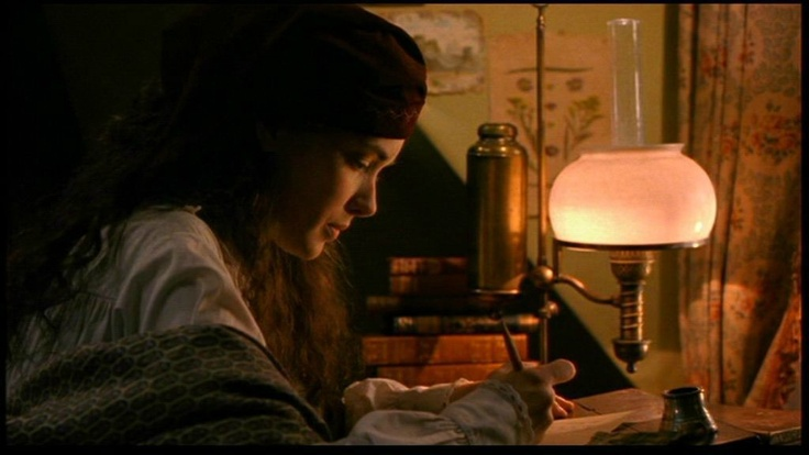 Check out my tutorial for creating a writer's cap just like Jo's    here.