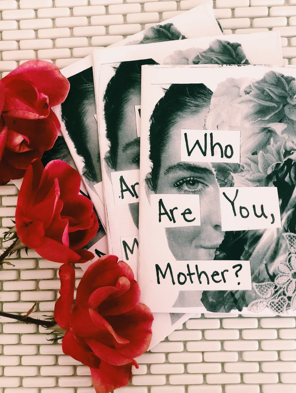 """""""Who Are You, Mother"""" created by Adriana Siler for ABQ Zine Fest 7"""