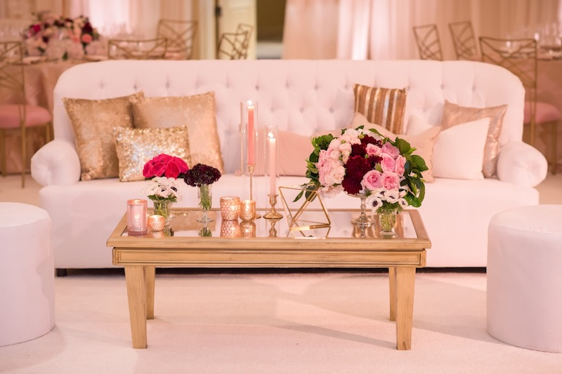 Elegant Pink and Gold Wedding at The Montage — Wedding DJ | Event ...