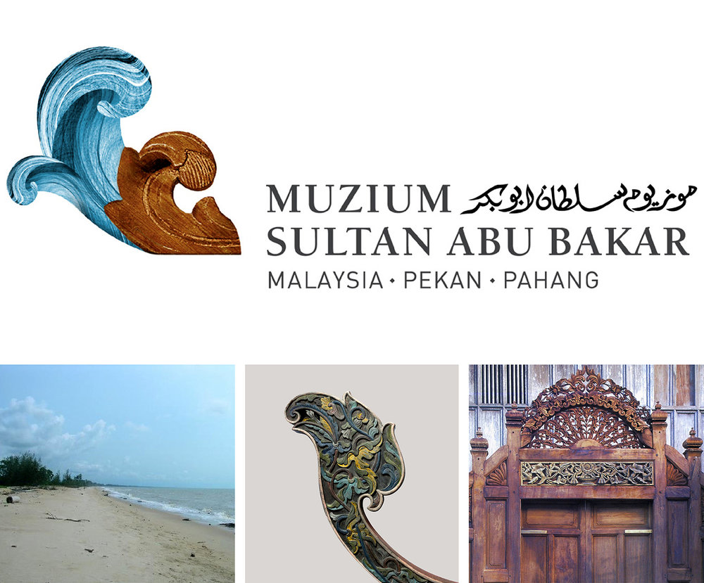 "LEFT: The East Coast has miles of sandy beaches, resonant with the pounding waves of the South China Sea.  CENTRE: The  b  angau  is a decorative guard on a traditional fisherman's boat that provides support for the mast when not in use. ""It represents the finest example of Malay artistic form which serves as a visible symbol of the links between Malay culture and the sea.""—Syed Ahmad Jamal).  RIGHT: The East Coast is popularly known as the 'Cradle of Malay Culture' where traditional arts, especially woodcarving, flourish and reach its highest aesthetic achievements."
