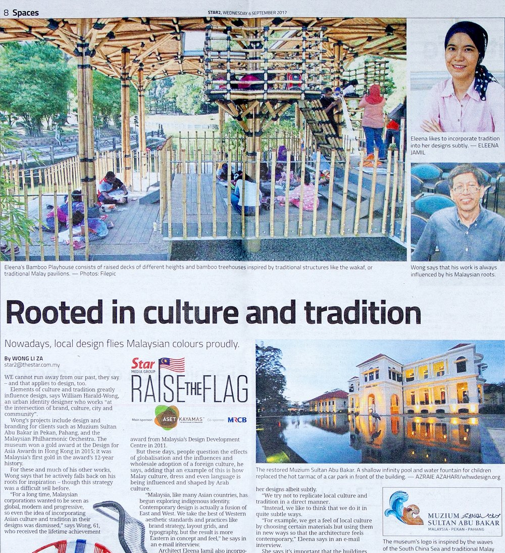 Rooted in culture and tradition  The Star, 6 Sep 2017