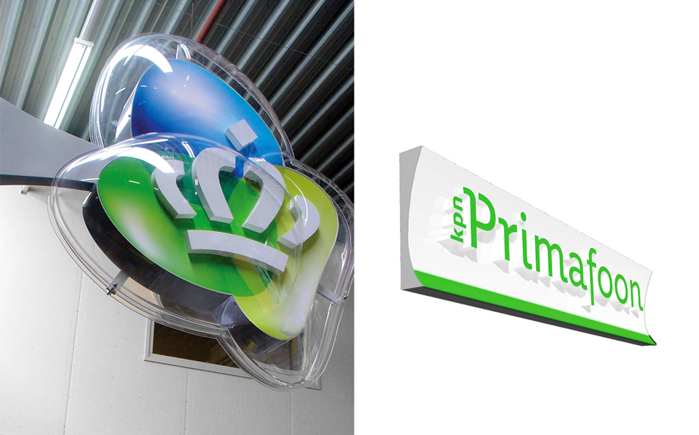 KPN Corporate and Retail / Signage System