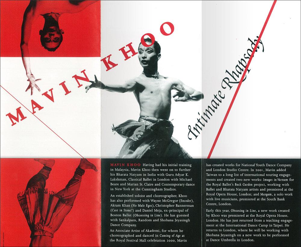 Programme leaflet (inside)