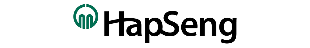 As the symbol-mark cannot be changed, much of our early visual exploration focused on the logotype, 'Hap Seng'.