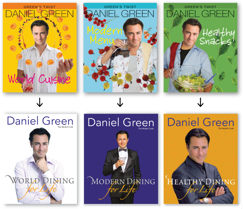 Daniel Green's book  Modern Dining for Life  won  The Best Celebrity Cookbook Award 2010  by the industry's most respected Gourmand International—Gourmand World Cookbook Awards.