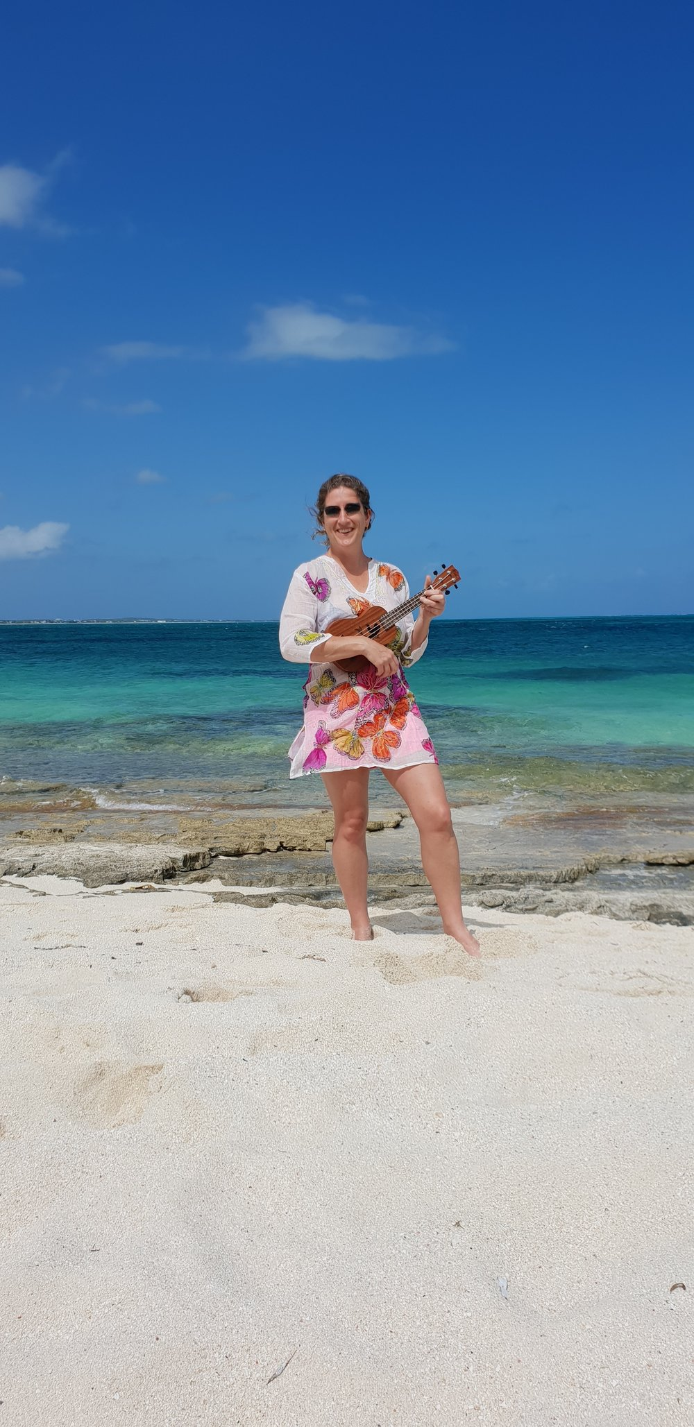 PLAYING THE UKULELE IN TCI