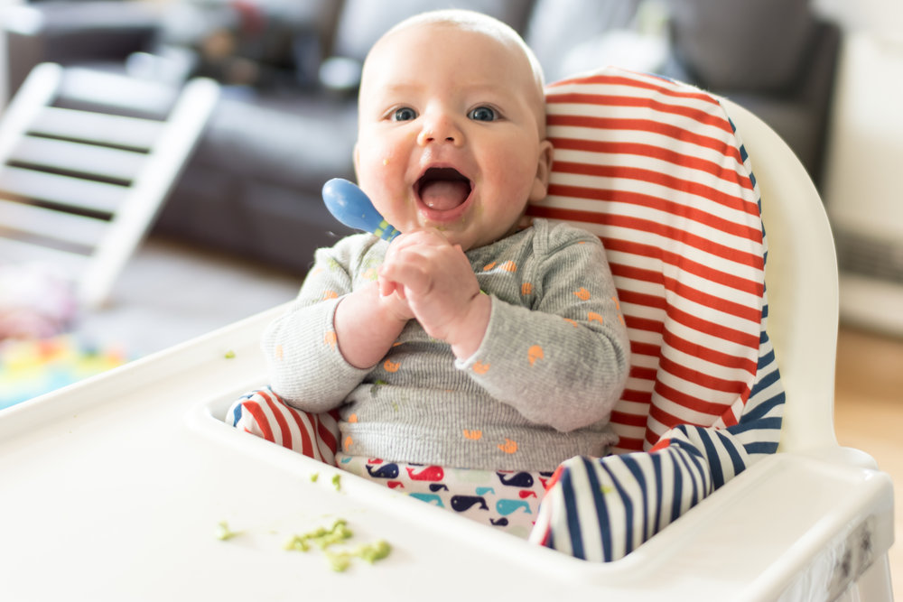 baby starting solids eating first foods