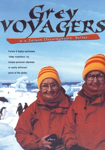 "Grey Voyagers - 20016x30 minAdventure DocumentaryDecember Films/SBS AustraliaThere are more people in the world today over 60 years old than there has ever been before. They are living in their ""Third Age"" and despite their rapidly increasing numbers, there are few older ""role models"" to whom they may look for inspiration… Until now.Grey Voyagers is a unique six-part travel and adventure series, featuring the remarkable stories of six ordinary ""older people"" making extraordinary journeys to far-flung parts of the globe. Their adventures takes us to the frozen Antarctic wilderness, across the broad expanse of the United States, motorcycling through the spectacular vistas of Nepal, sailing among the lush tropical islands of the Caribbean, into the ancient landscapes of Northern Iran and the devastation of East Timor."