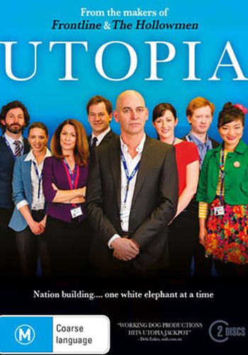 UTOPIA:SEASON 3 - 20178 x 26 minComedy SeriesWorking Dog ProductionsSet inside the offices of the