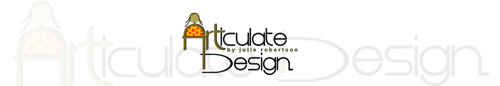 Articulate Design by artist Julie Robertson