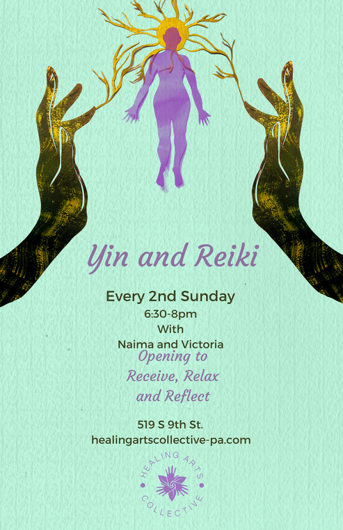 Yin Yoga and Reiki