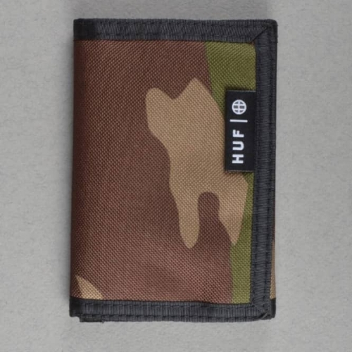 HUF Camo Wallet - Design Tech Pack