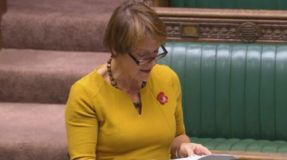 Caroline Spelman MP in the House of Commons on Thursday 26th October