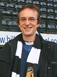 Revd Liam is also a Chaplain at Notts County Football Club