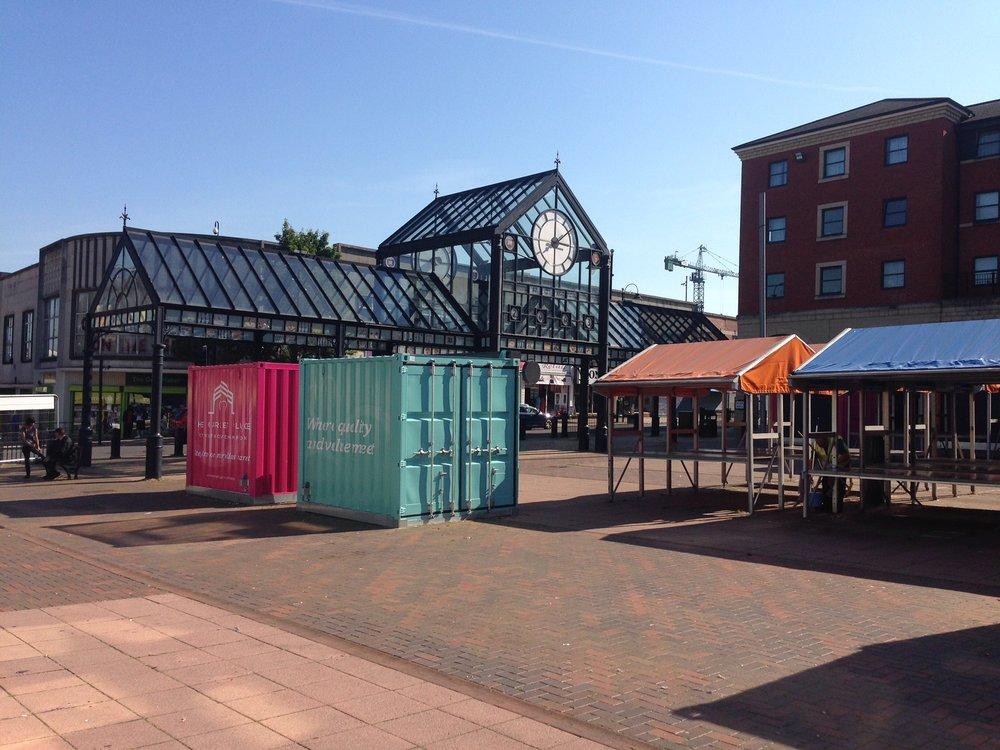 The sites of Wolverhampton