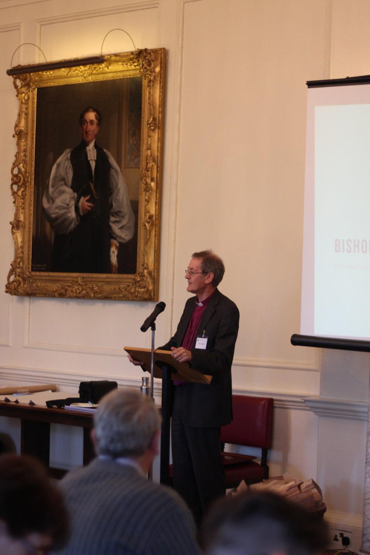 Bishop Alastair sets the scene