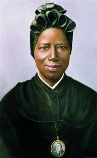 St Josephine Bakhita who is commemorated on 8th February