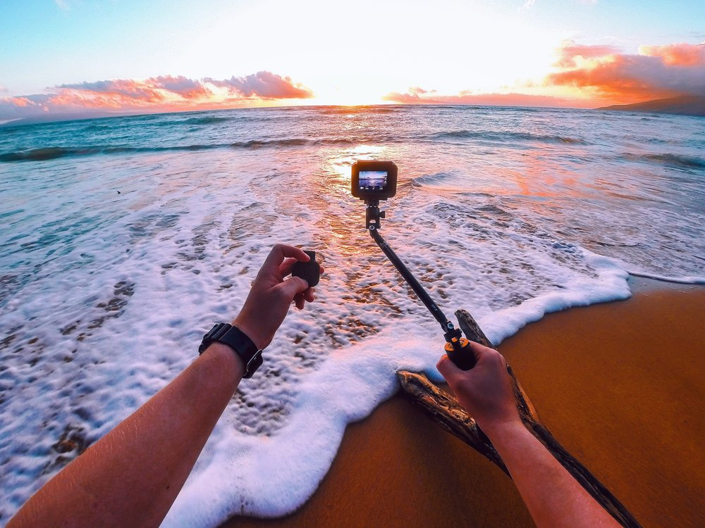 I use the top of the line Gopro cameras and equipment to capture amazing content.