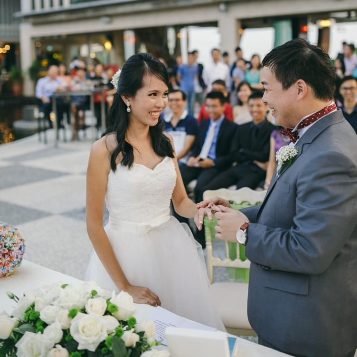 Sheng An & Peiyi - Very grateful that I had you both as my actual day photographer! We really love your service and would definitely recommend to our friends! Thanks again for capturing all the wonderful moments on our special day!