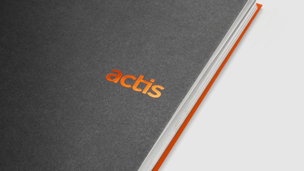 Actis: brand identity