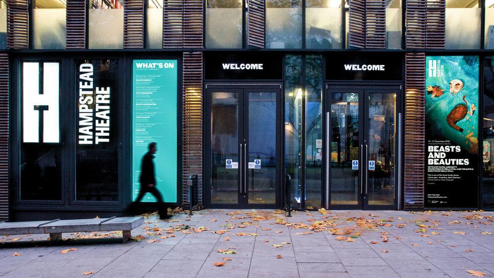 Hampstead Theatre: brand identity
