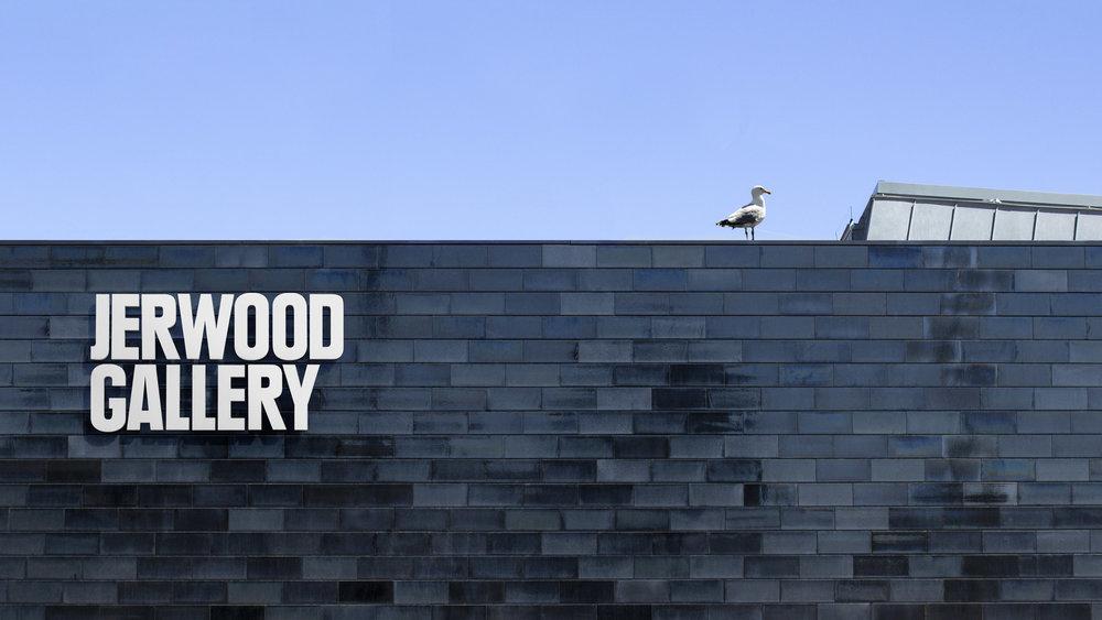 Jerwood Gallery: brand identity