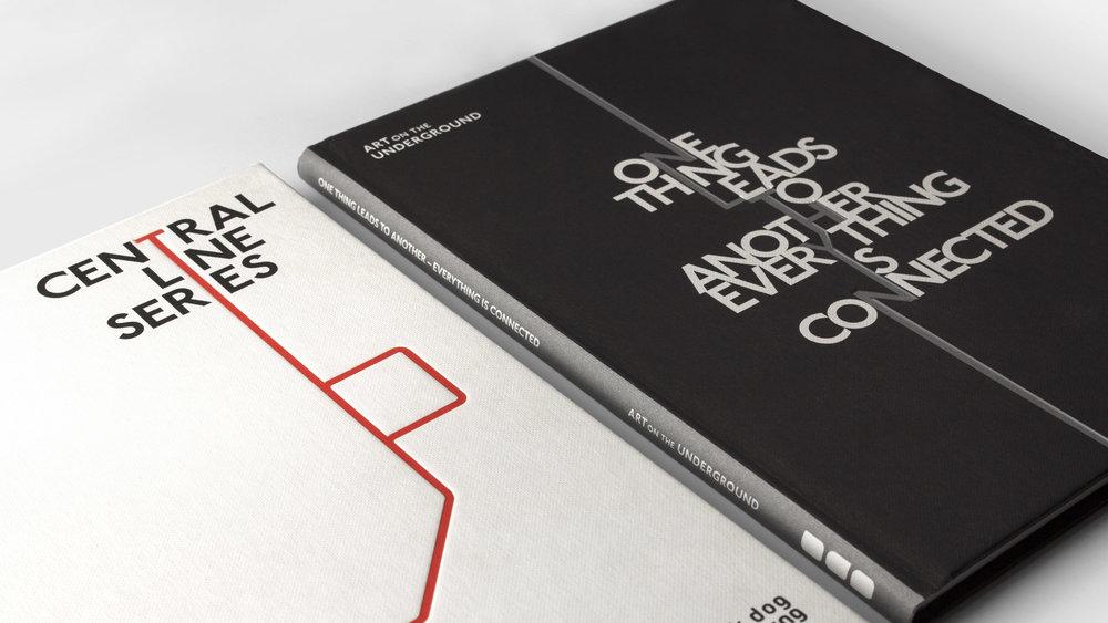 Art on the Underground: publication series design