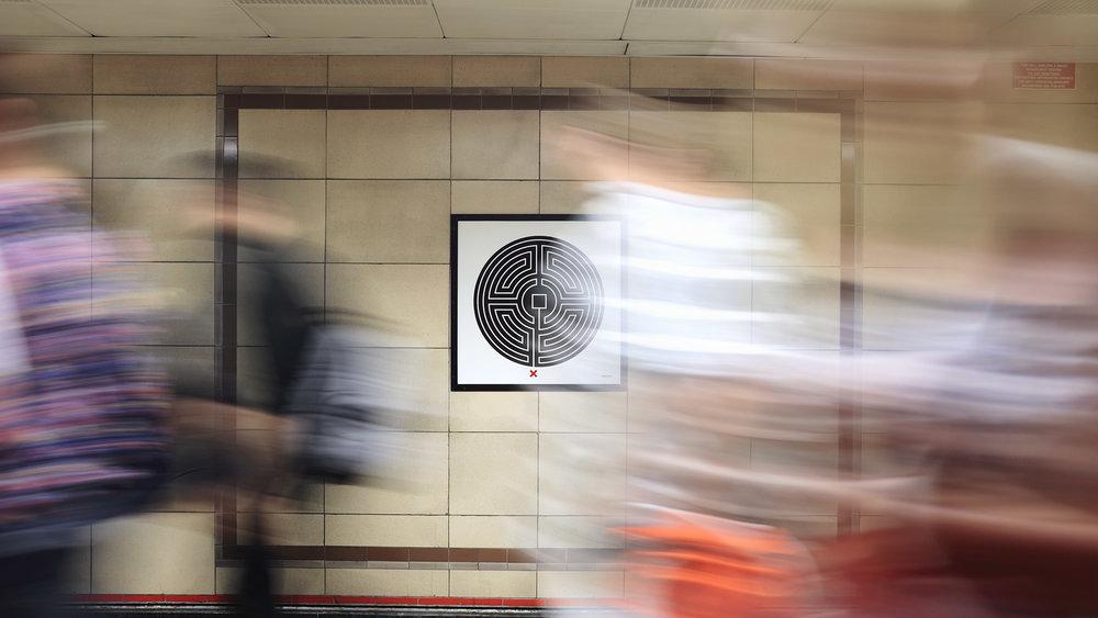 Art on the Underground: Mark Wallinger's Labyrinth collaboration