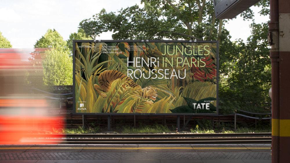 Tate: marketing campaigns
