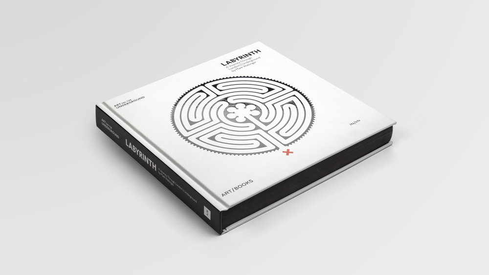Art on the Underground: Mark Wallinger's Labyrinth publication design
