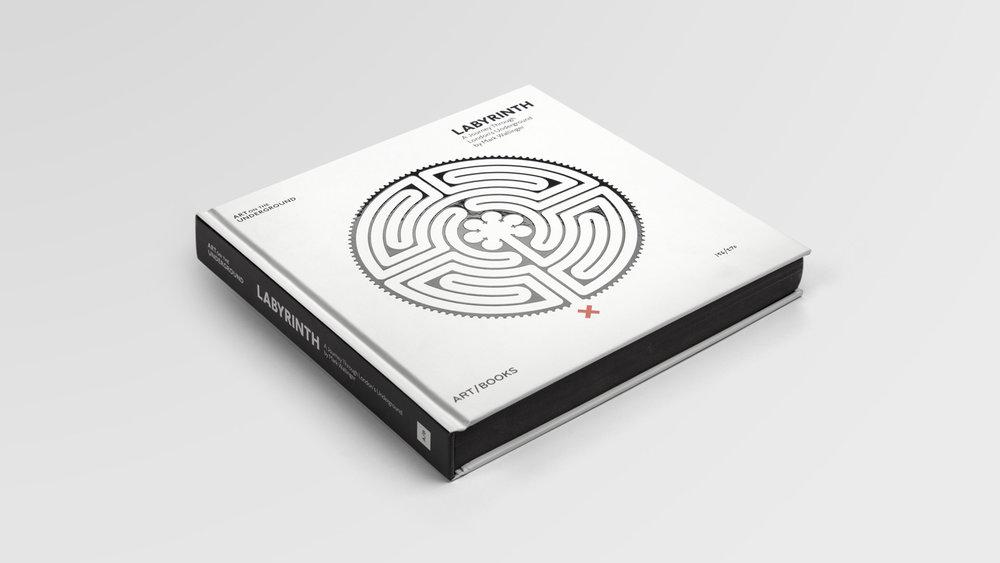 Art on the Underground: Mark Wallinger's Labyrinth publication design