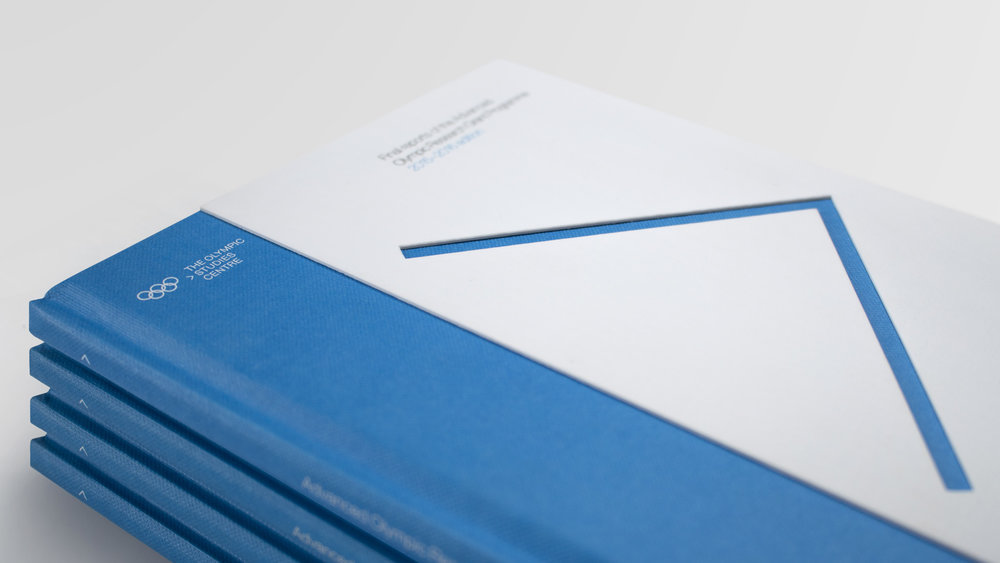 The Olympic Studies Centre: brand identity