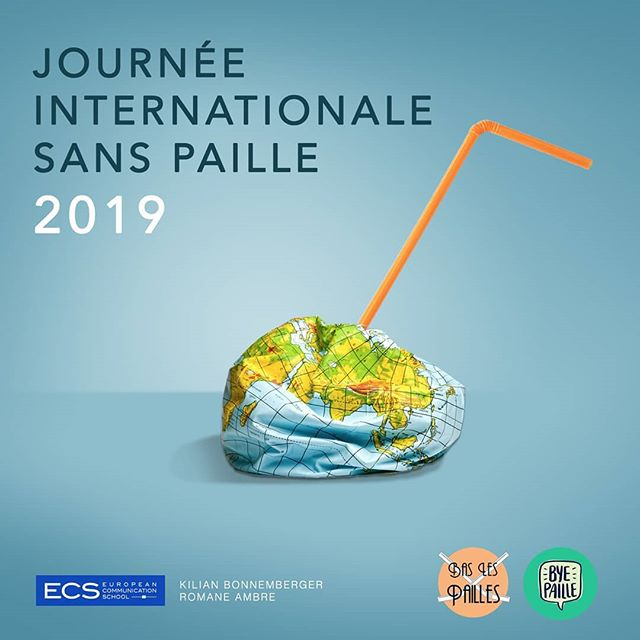 [ÉVÉNEMENT] Nous avons le plaisir de vous annoncer le lancement de la seconde Journée internationale sans paille en partenariat avec l'association Low Carbon France et son projet @byepaille  Collecte de pailles, démarchage de bars, cafés, restaurants, débat ou projection... Cette journée sera une nouvelle occasion de sensibiliser sur les effets nocifs des pailles en plastique à usage unique, et ce, partout dans le monde !  Si vous souhaitez organiser un evenement, dites le nous avec un 💌 ! Plus de détails sur l'événement bit.ly/journeesanspaille2019 . . . . [ EVENT ] We are glad to announce that on February  2nd will take place the Second International StrawFree Day.  This will once again be a chance to bring awareness on that little bit of plastic, all together around the world.  Social gathering, screenings, plastic collection, talking to businesses, cafes and bystanders... There are plenty ways of acting !  If you already have something in mind, please contact us 💌. More details on our main event on bit.ly/journeesanspaille2019  #baslespailles #byepaille #journeesanspaille #strawfreeday #2019 #2fevrier #sansplastique #plasticfree #christmas #stopsucking #solidaire #equitable  #ecogestes #zerodechet #zerowaste  #sanspaillesvp  #mieuxconsommer #ecoresponsabilite #oceanlove #saveourocean #oceanart #protectwhatyoulove #saveourseas #oceandefenders  #singleuseplastic #strawssucks #noexcuseforsingleuse