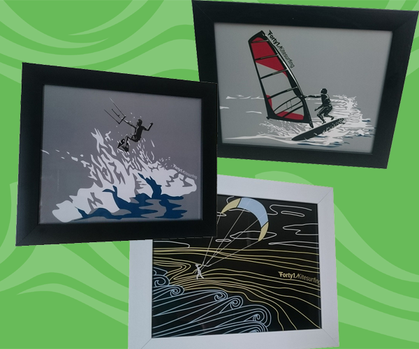 Prints - For those who love our designs and have too many t-shirts, we offer a prints for some of the designs.