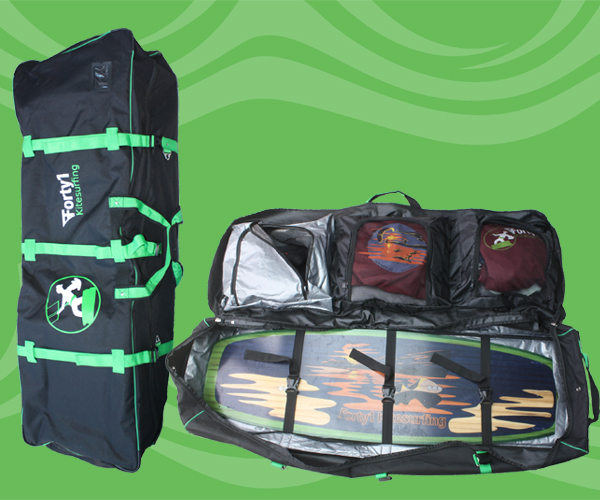 The EASy Roller - Rugged travel bag, easy to transport and to organise your kit