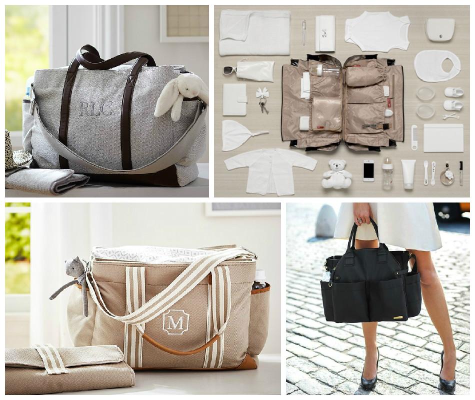 vanlig väska som skötväska
