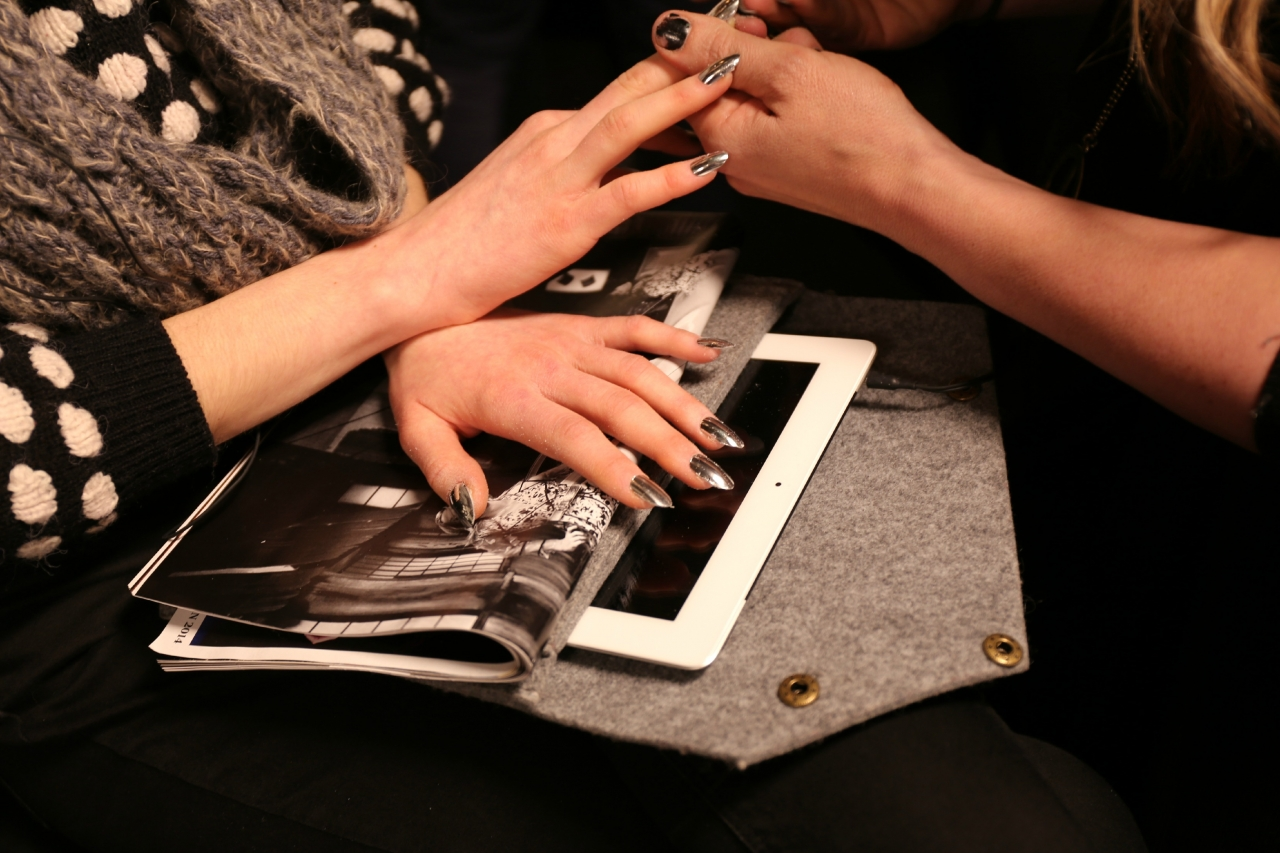dagmar fall winter 14 nails