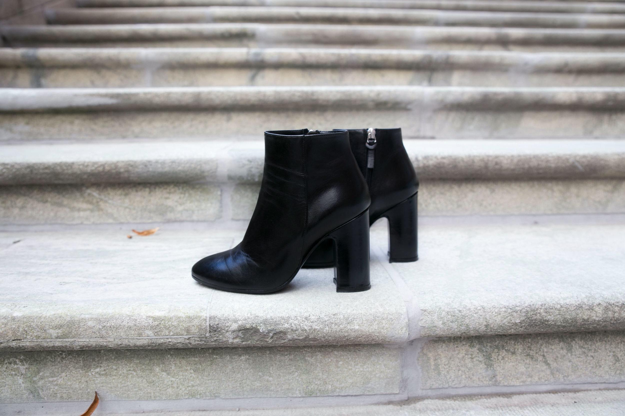 boots svarta rizzo