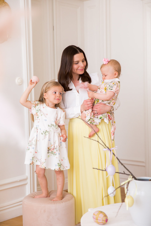 pask familj Angelica Aurell pastell mammablogg