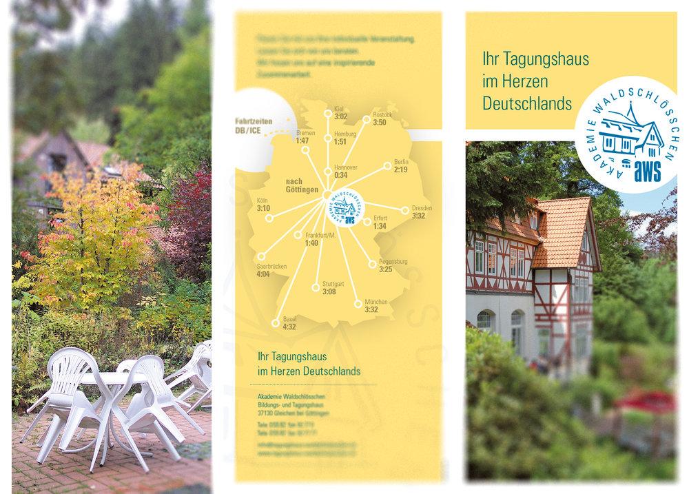 Tagungshausbroschüre - Umschlag