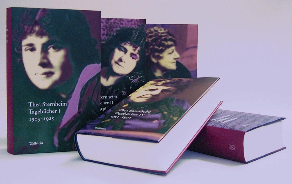 Buchumschläge - für den Wallstein Verlag
