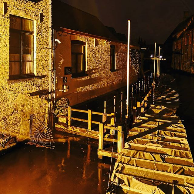 night shot #huaweip20pro #brugge #belgium