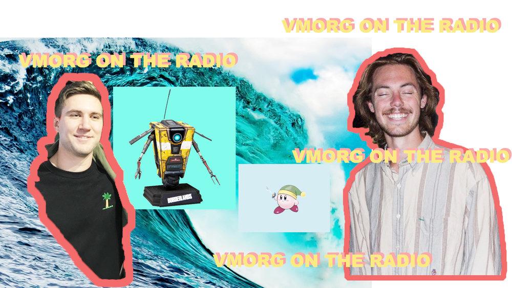 VMorg on radio.jpg