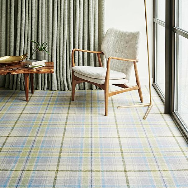 Ruler Interior Designers plaid carpets 1