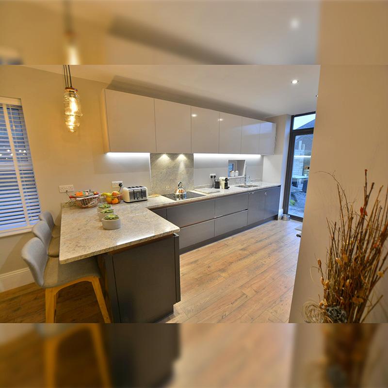 Poole Semi, Kitchen