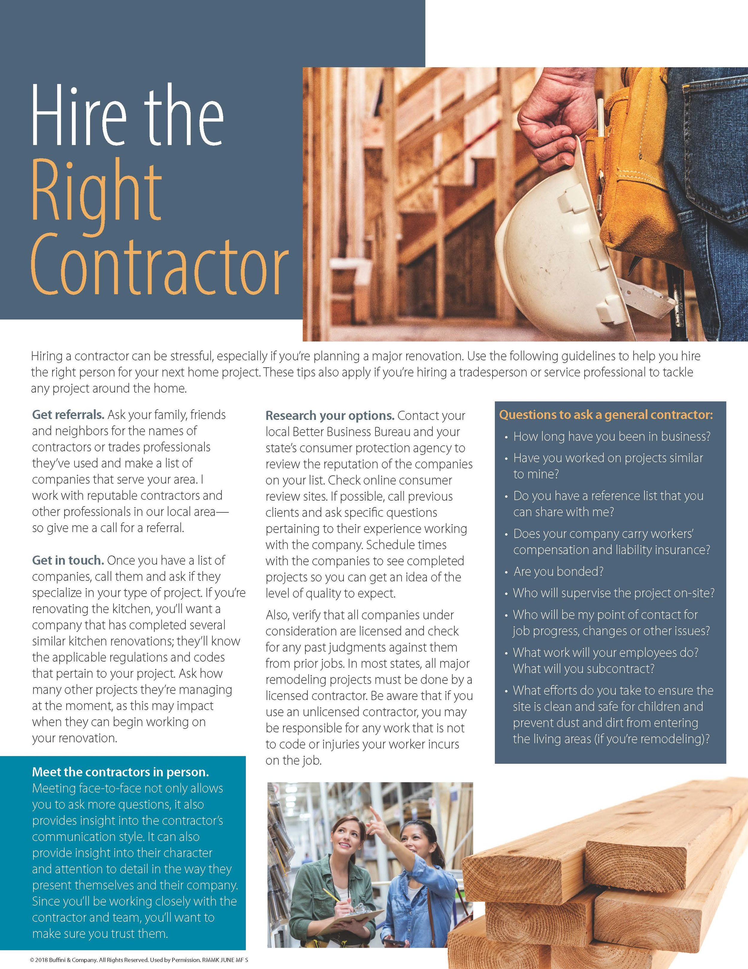 Questions to Ask Before Your House is Under Construction