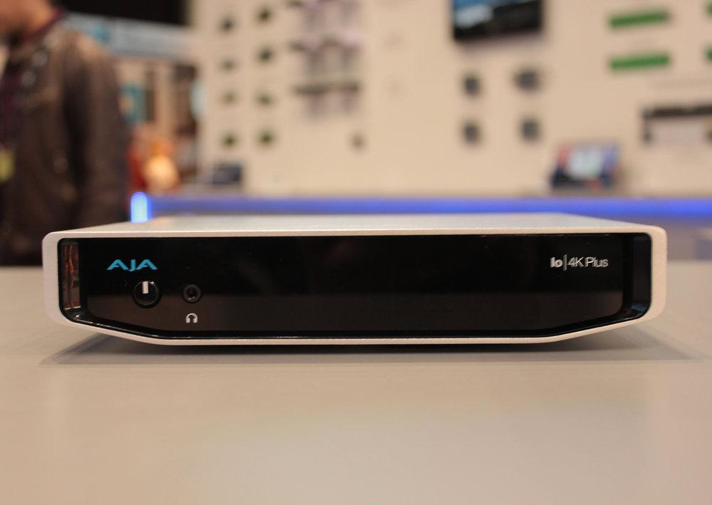 Är man i behov av 16-bitars ljud, berättade AJA att man släppt en syskonmodell till Io 4K Plus: DNxIV.