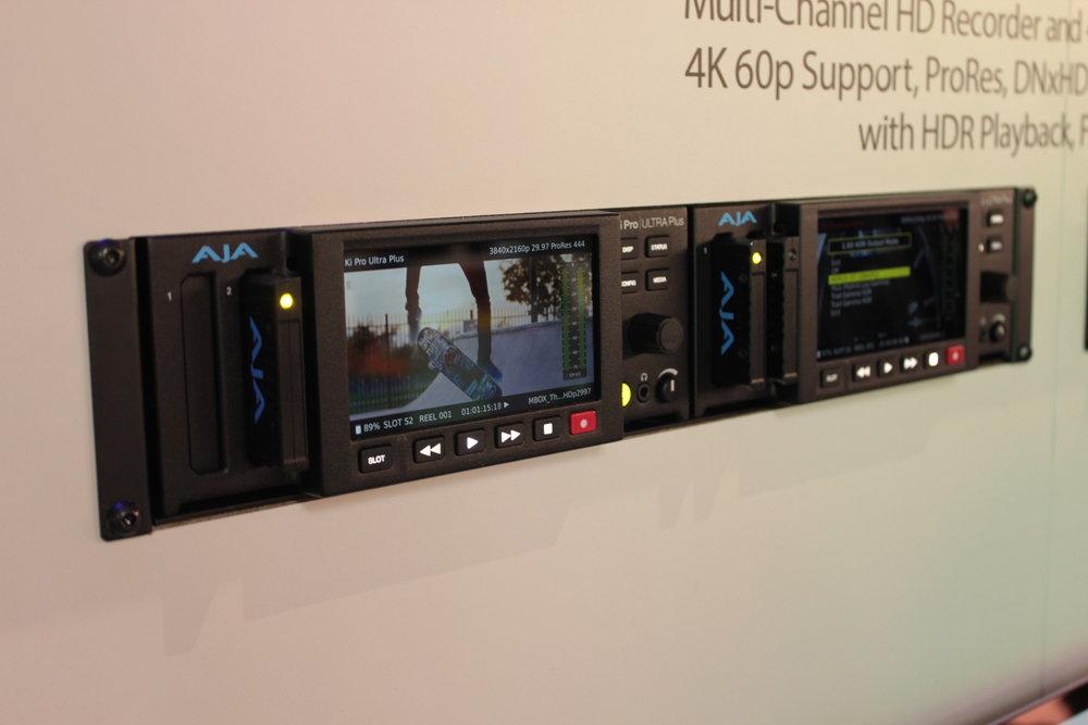 AJA Ki Pro Ultra Plus.