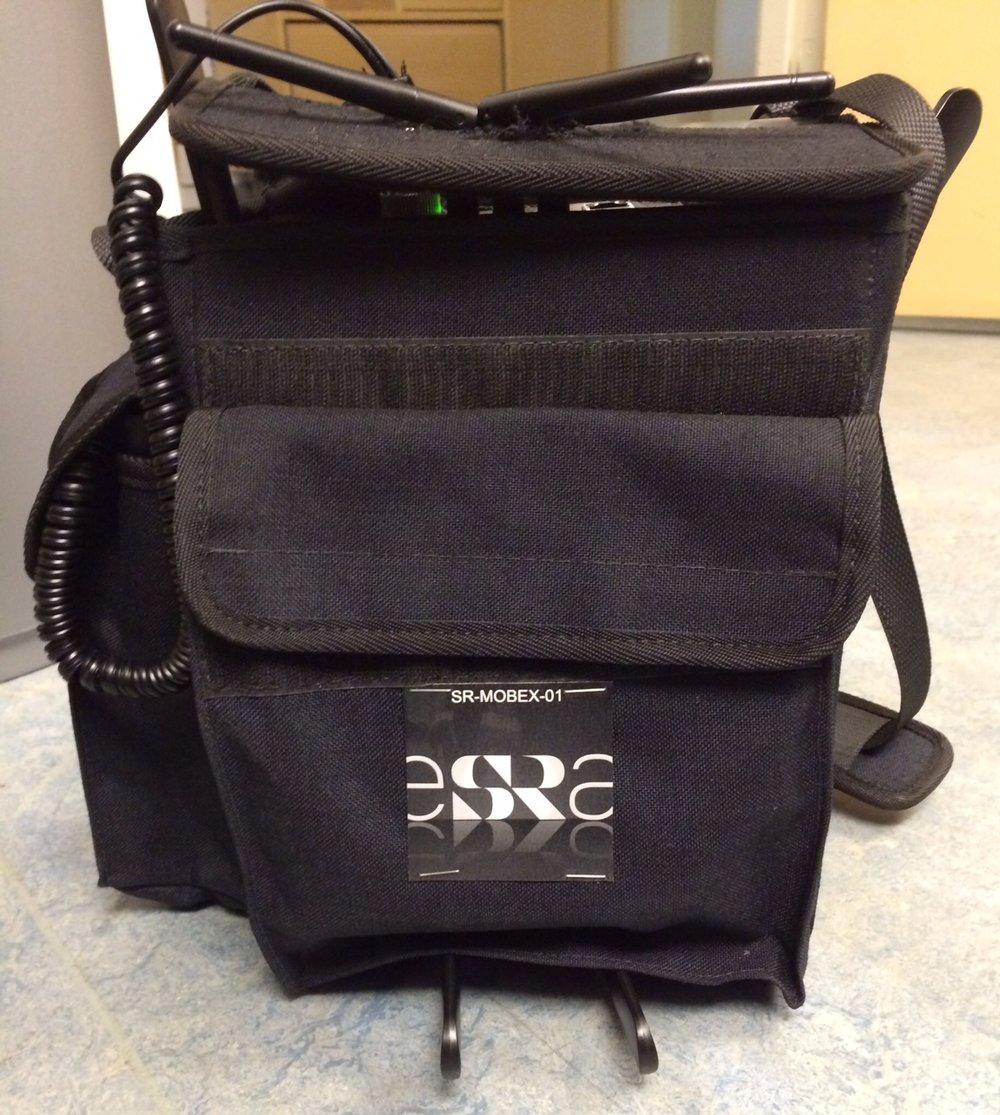 Första prototypen på OB-väskan.
